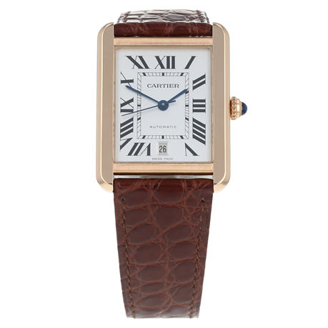 Pre-Owned Cartier Tank Solo Mens Watch W5200026/ 3514