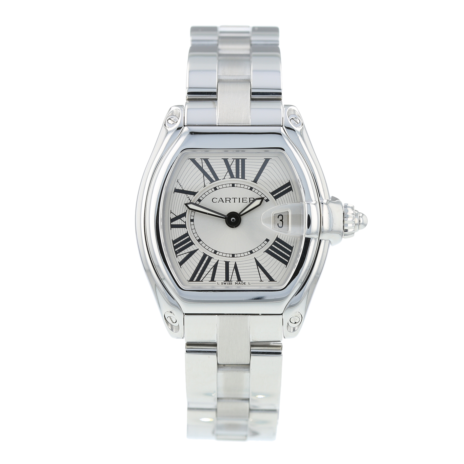 Pre-Owned Cartier Roadster Ladies Watch 2675