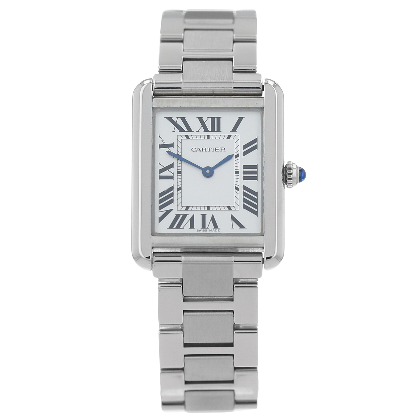 Pre-Owned Cartier Tank Solo Ladies Watch W5200013/3170