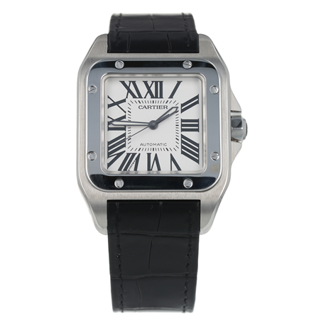 Pre-Owned Cartier Santos Mens Watch W20073X8/ 2656