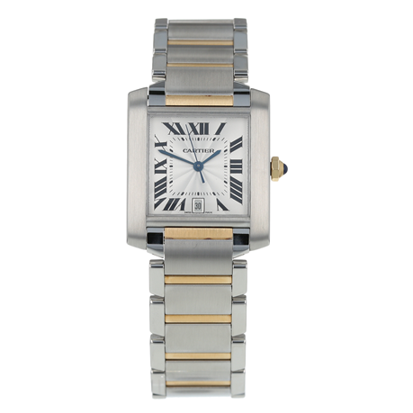 Pre-Owned Cartier Tank Francaise Mens Watch W51005Q4/2302