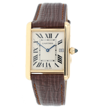 Pre-Owned Tank de Cartier Mens Watch