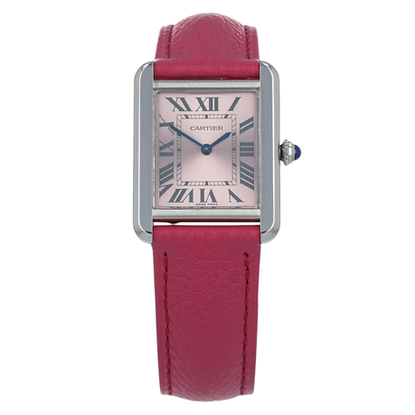 Pre-Owned Cartier Tank Solo Ladies Watch W5200000/ 3170