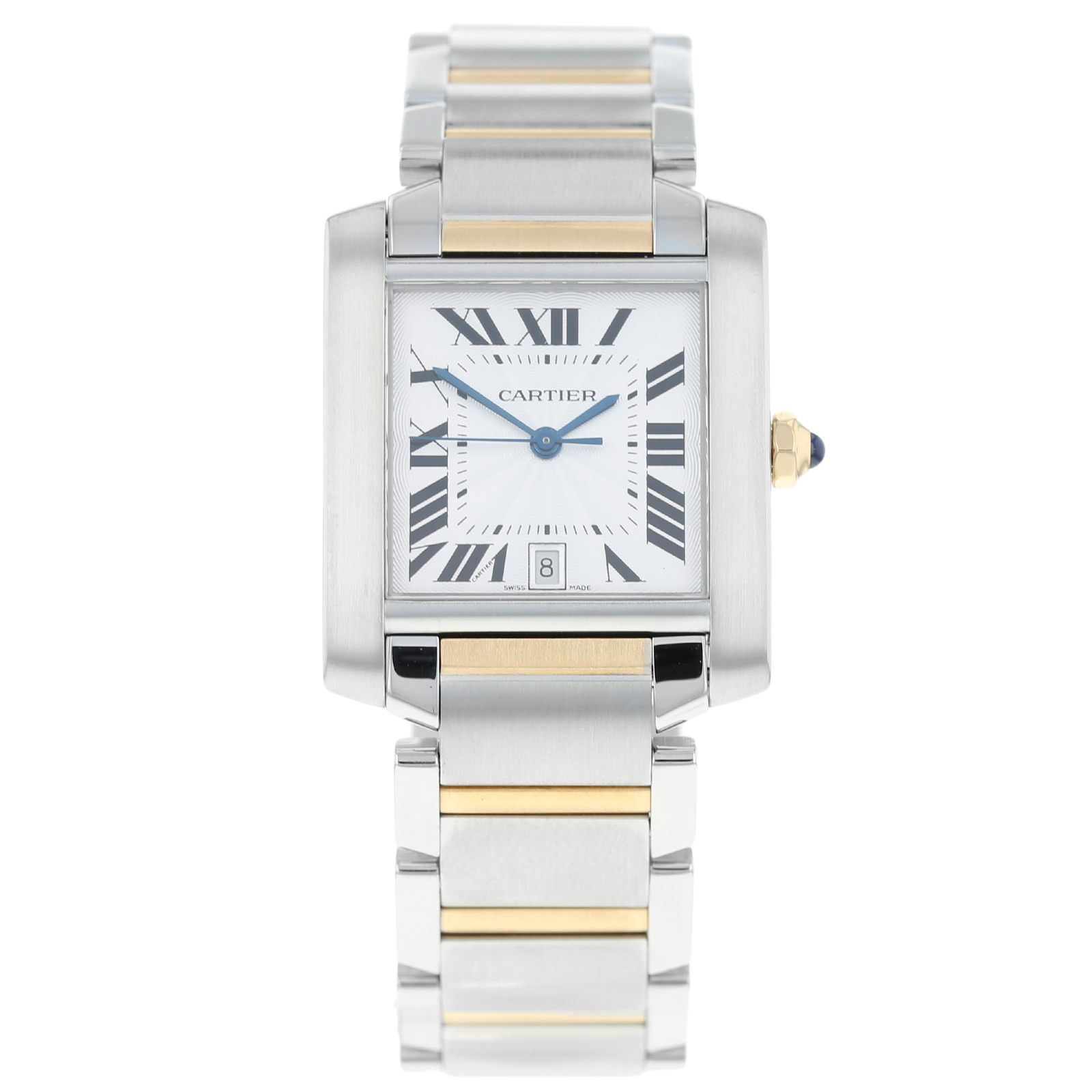 Pre-Owned Cartier Tank Francaise Mens Watch W51005Q4