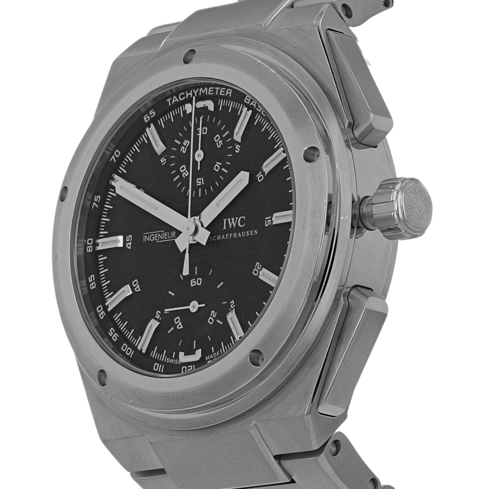 new products e9850 47be5 Pre-Owned IWC Ingenieur Chronograph Mens Watch IW372501