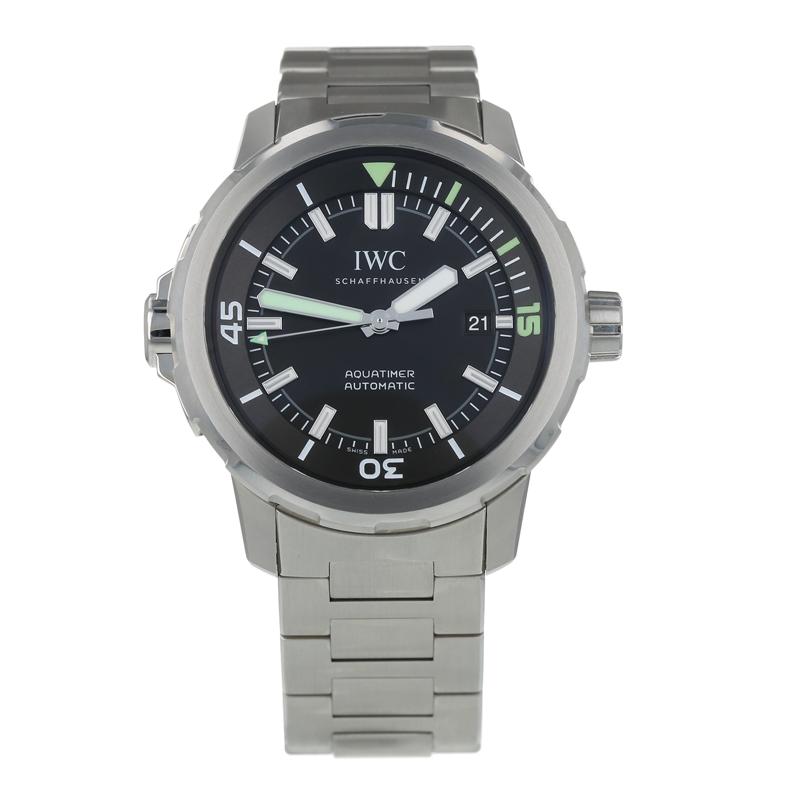 Pre-Owned IWC Aquatimer Mens Watch IW329002