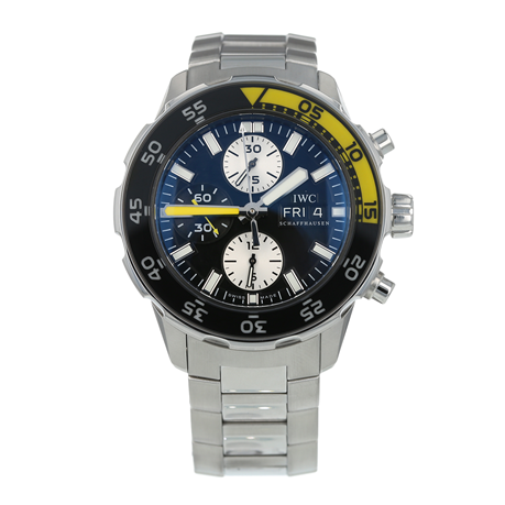 Pre-Owned IWC Aquatimer Chronograph Mens Watch IW376701