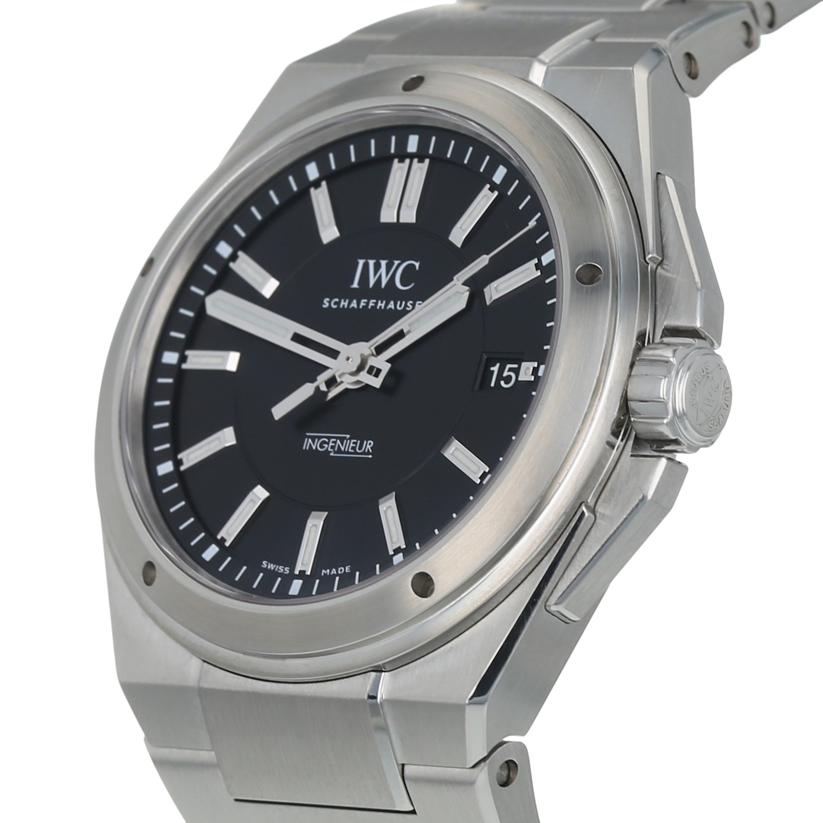 new concept 071a6 14f08 Pre-Owned IWC Ingenieur Mens Watch IW323902