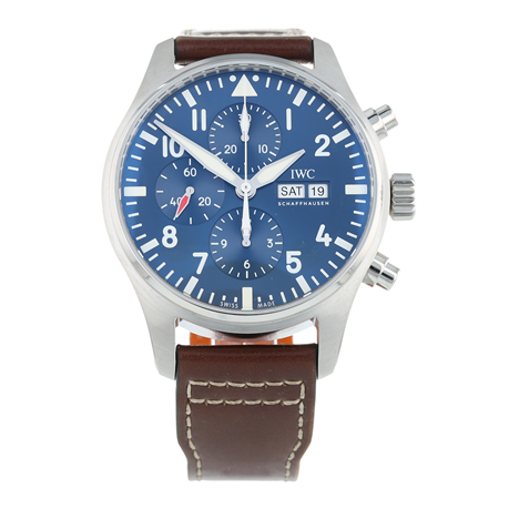 Pre-Owned IWC Pilot Chronograph Mens Watch IW377714