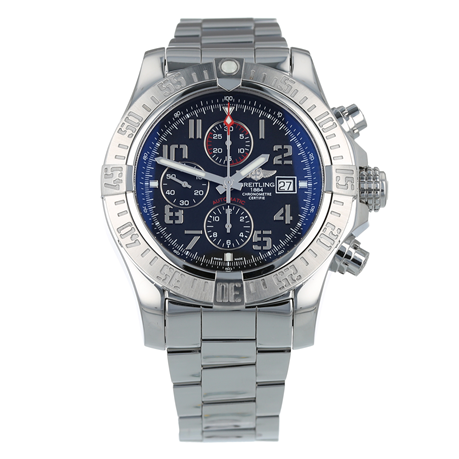Pre-Owned Breitling Super Avenger II Mens Watch A13371