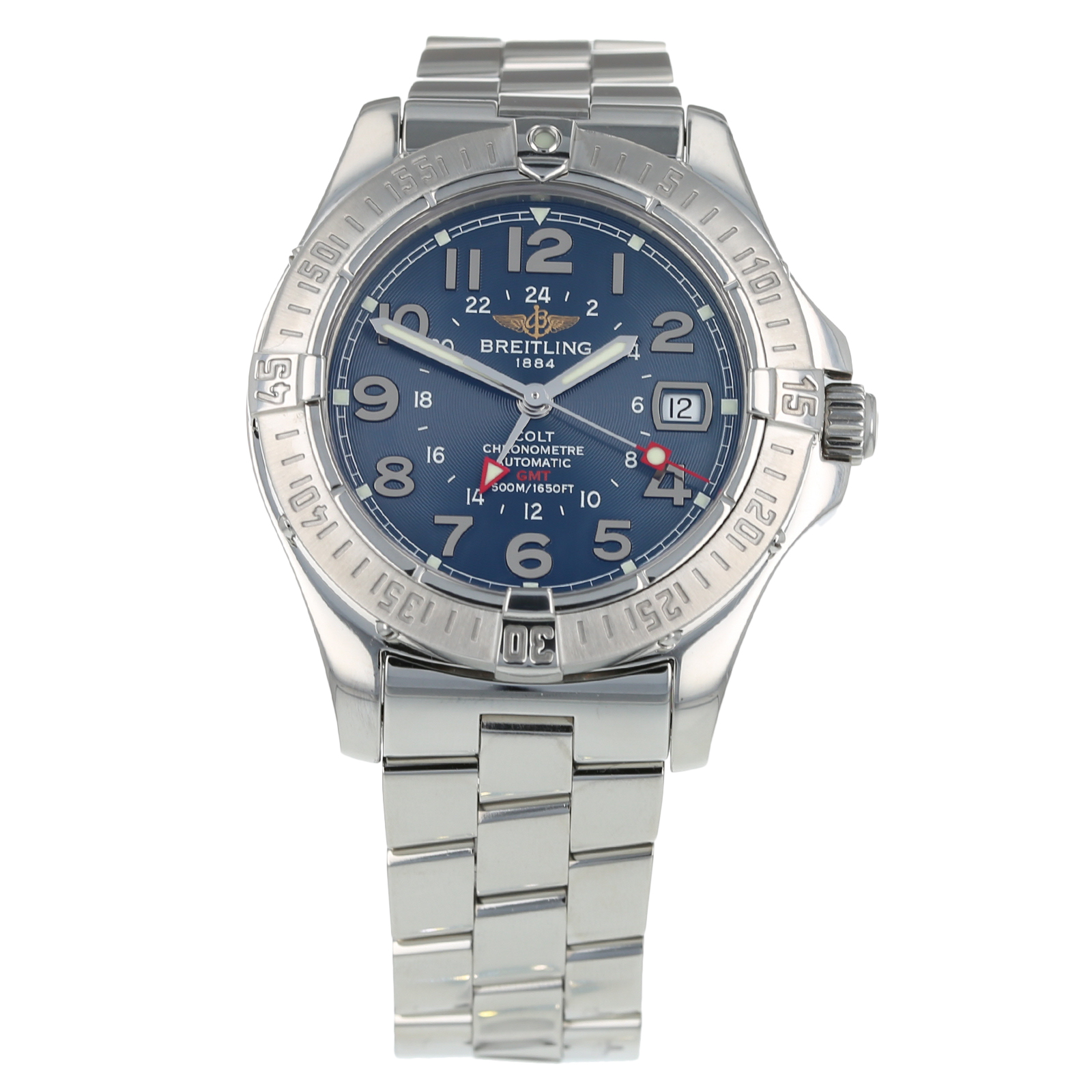 Pre Owned Breitling Colt GMT Mens Watch A32350
