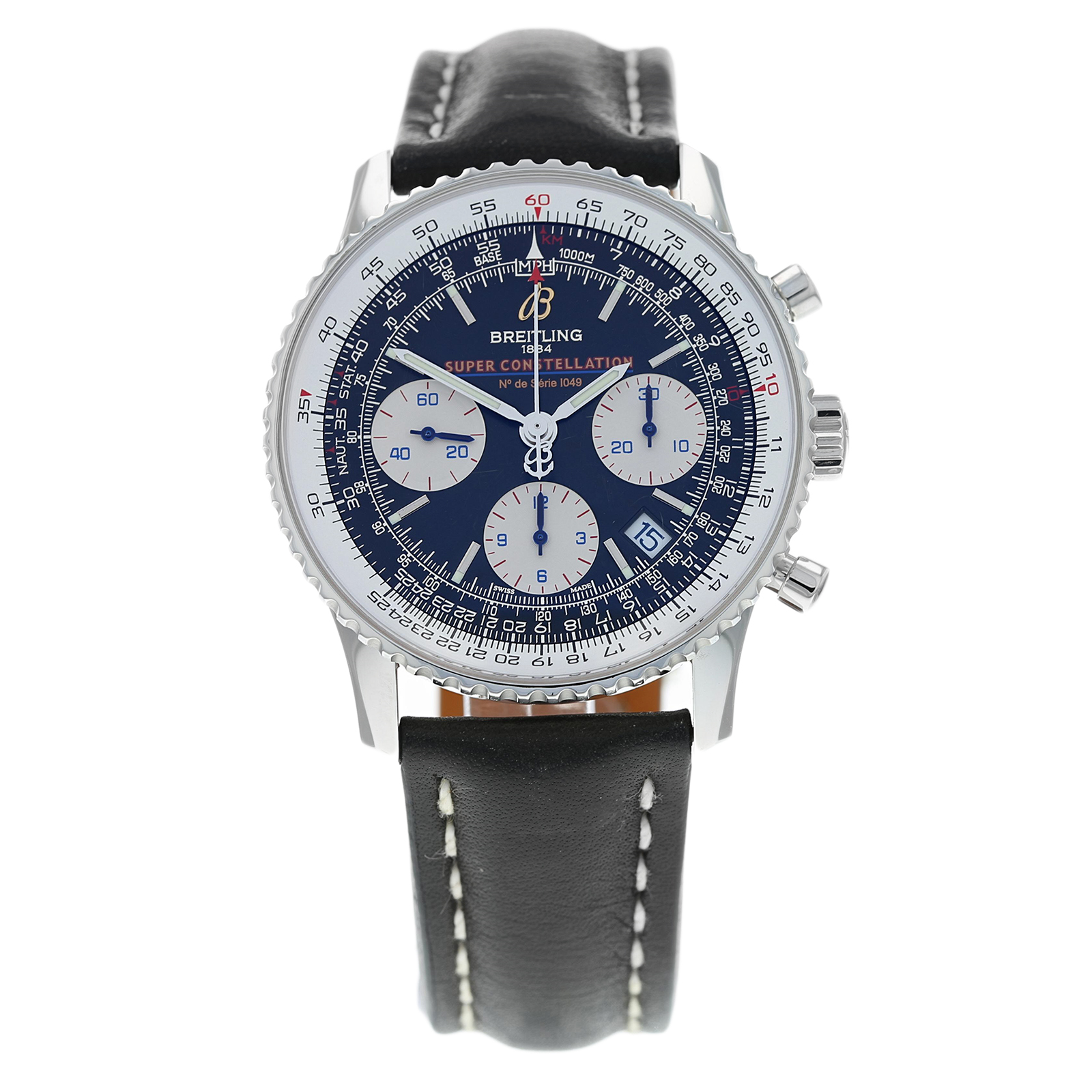 Pre-Owned Breitling Limited Edition Navitimer Super Const ...