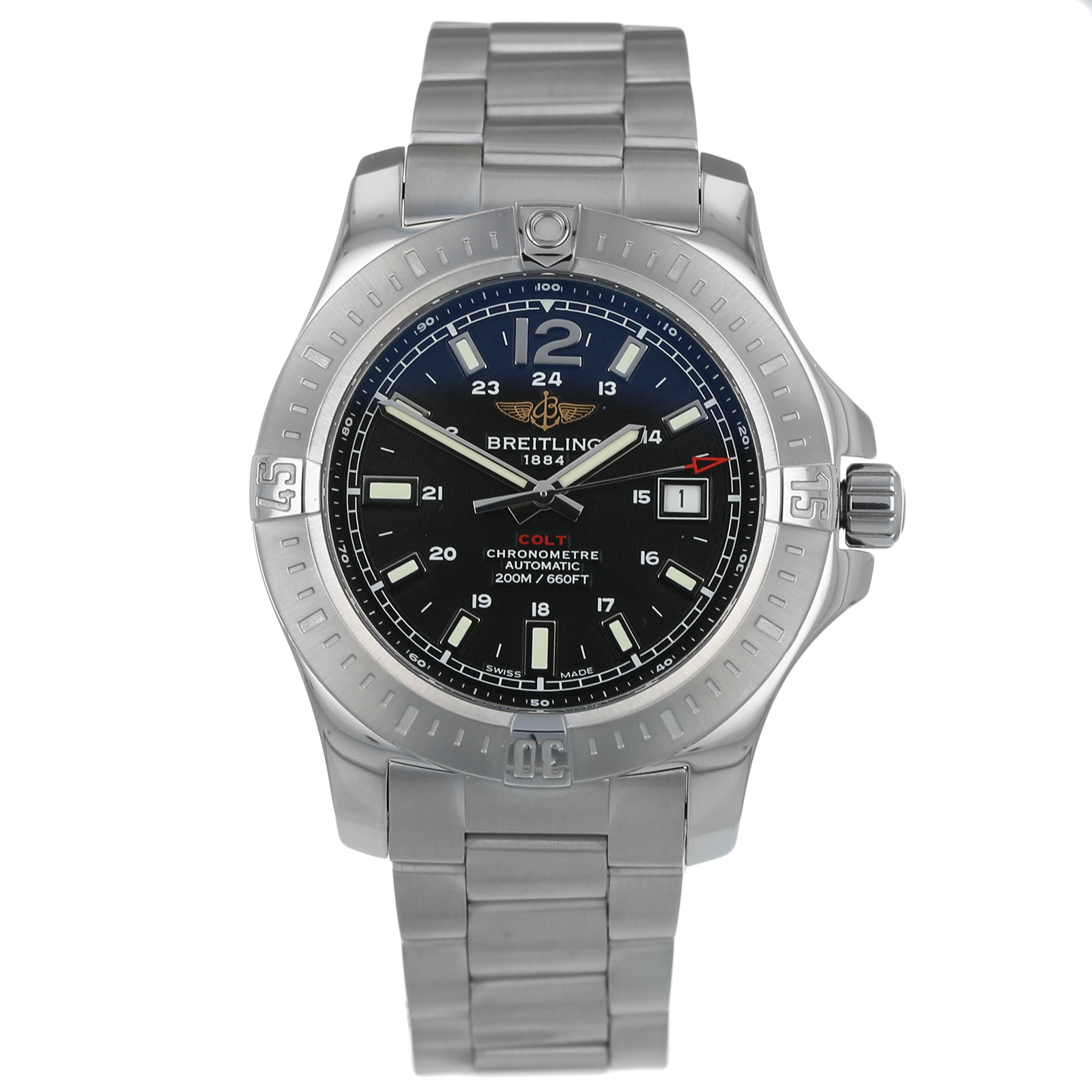 Pre-Owned Breitling Colt Auto Mens Watch A17388