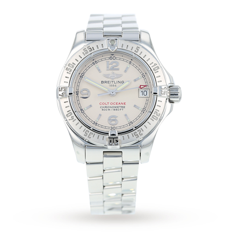 Pre-Owned Breitling Colt Oceane Ladies Watch A77380