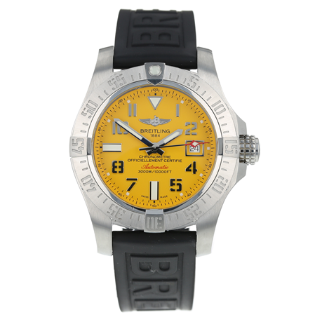 Pre-Owned Breitling Avenger II Seawolf Mens Watch A17331