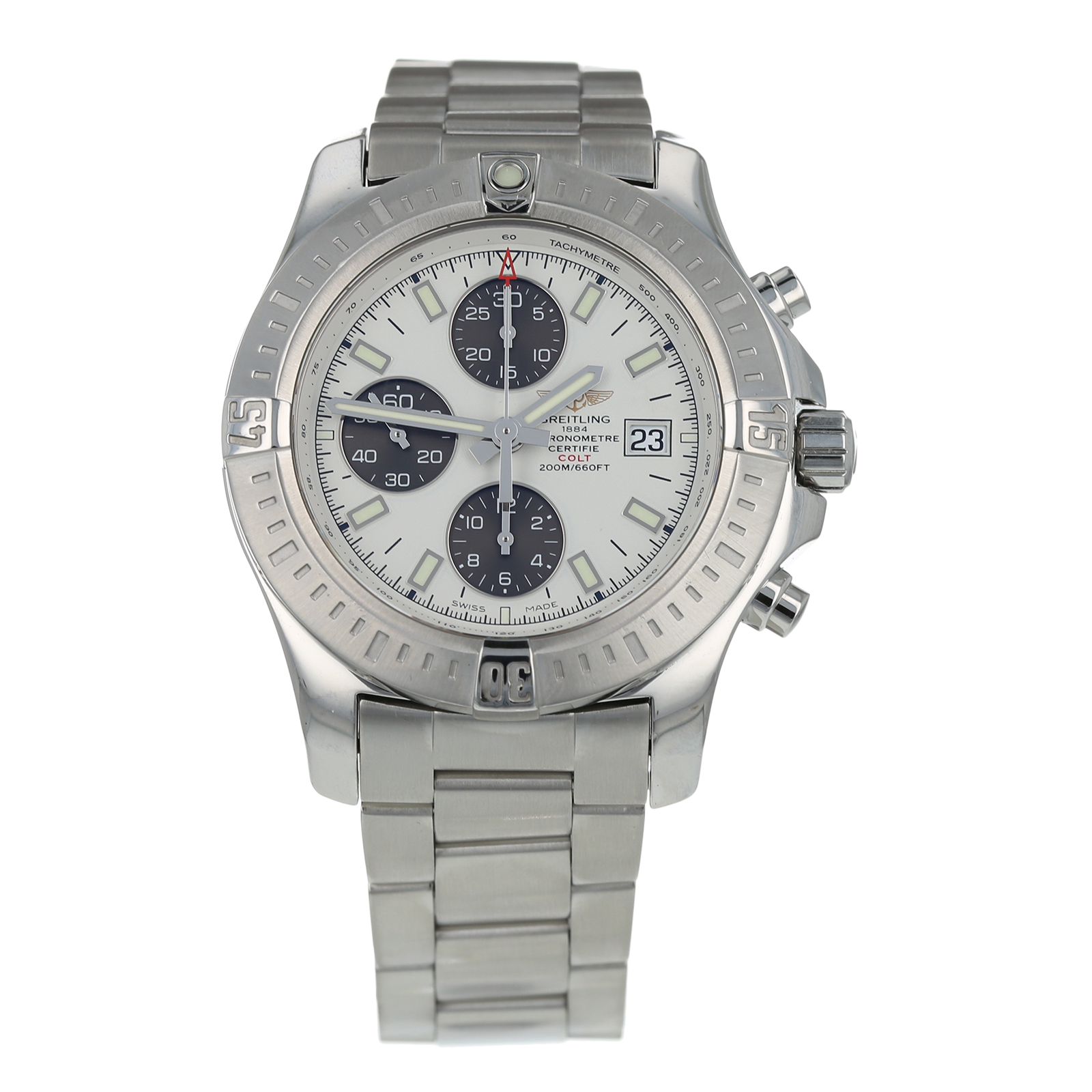 Pre Owned Breitling Colt Mens Watch A13388 Visit Goldsmiths