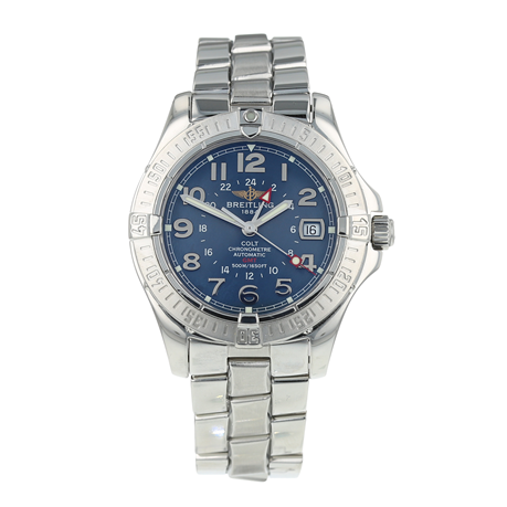 Pre-Owned Breitling Colt GMT Mens Watch A32350