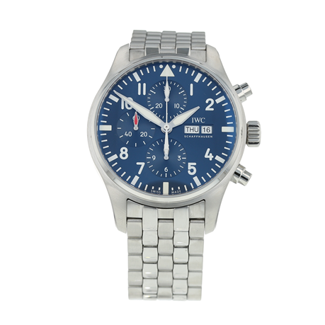 Pre-Owned IWC Pilot's 'Le Petit Prince' Mens Watch IW377717