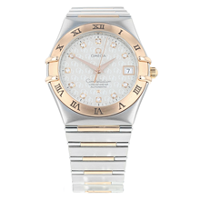 Pre-Owned Omega Constellation 50th Anniversary Mens Watch 1304.35.00