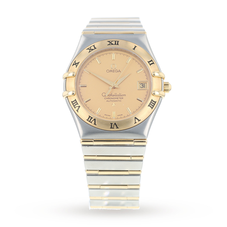 7c7492ab857 Pre-Owned Omega Constellation Mens Watch 11202.10.00