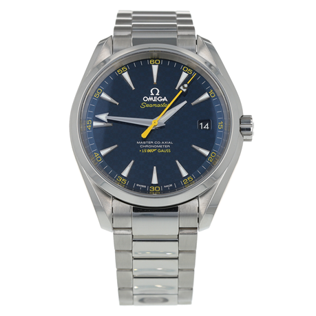 Pre-Owned Omega Seamaster Aqua Terra James Bond Limited Edition Mens Watch 231.10.42.21.03.004