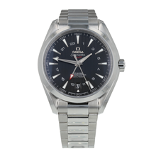 Pre-Owned Omega Seamaster Aqua Terra GMT Mens Watch 231.10.43.22.01.001