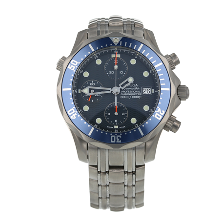 Pre-Owned Omega Seamaster Chrono Diver Mens Watch 2298.80.00