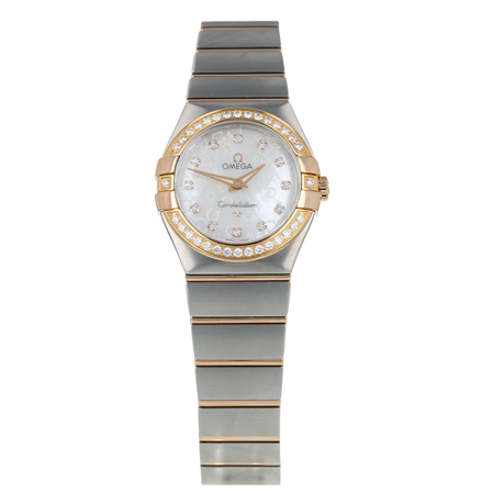 Pre-Owned Omega Constellation Ladies Watch 123.25.27.60.55.009