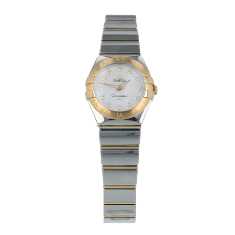 Pre-Owned Omega Constellation Ladies Watch 123.20.24.60.55.004