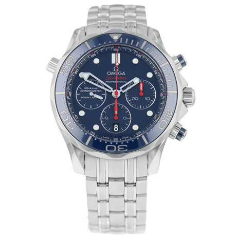 Omega Seamaster Co-Axial Chronograph 300m Mens Watch 212.30.44.50.03.001