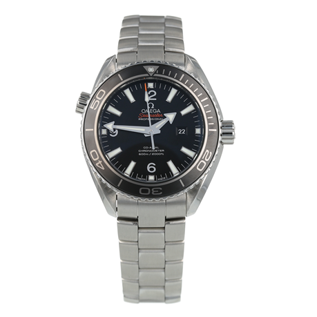 Pre-Owned Omega Seamaster Planet Ocean Mens Watch 232.30.38.20.01.001
