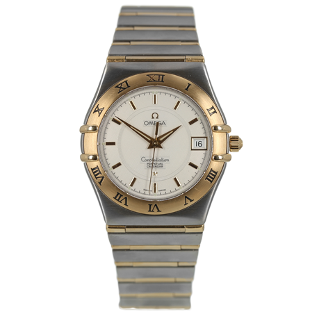 Pre-Owned Omega Constellation Perpetual Calendar Mens Watch 1252.30.00