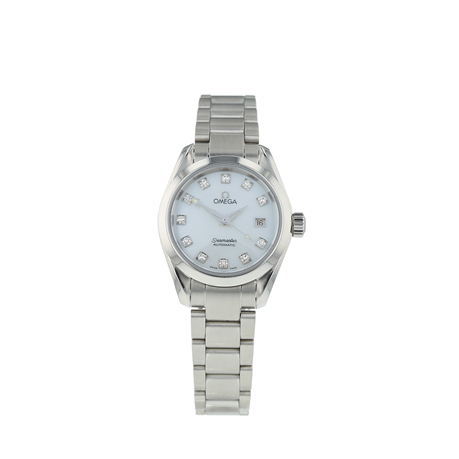 Pre-Owned Omega Seamaster Aqua Terra Ladies Watch 2563.75.00