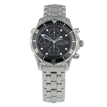 Pre-Owned Omega Seamaster Diver 300M Chronograph Mens Watch 213.30.42.40.01.001