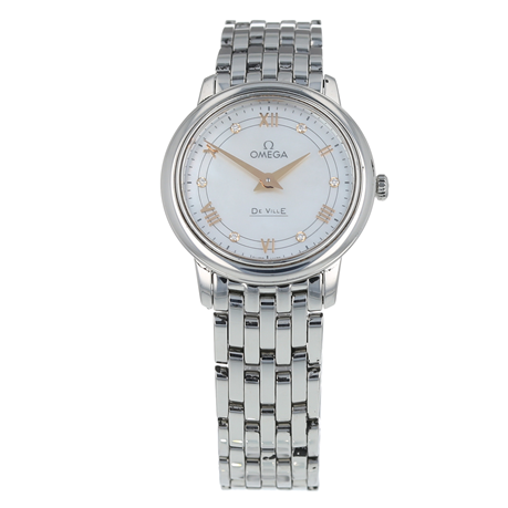 Pre-Owned Omega De Ville Prestige Ladies Watch 424.10.27.60.55.001