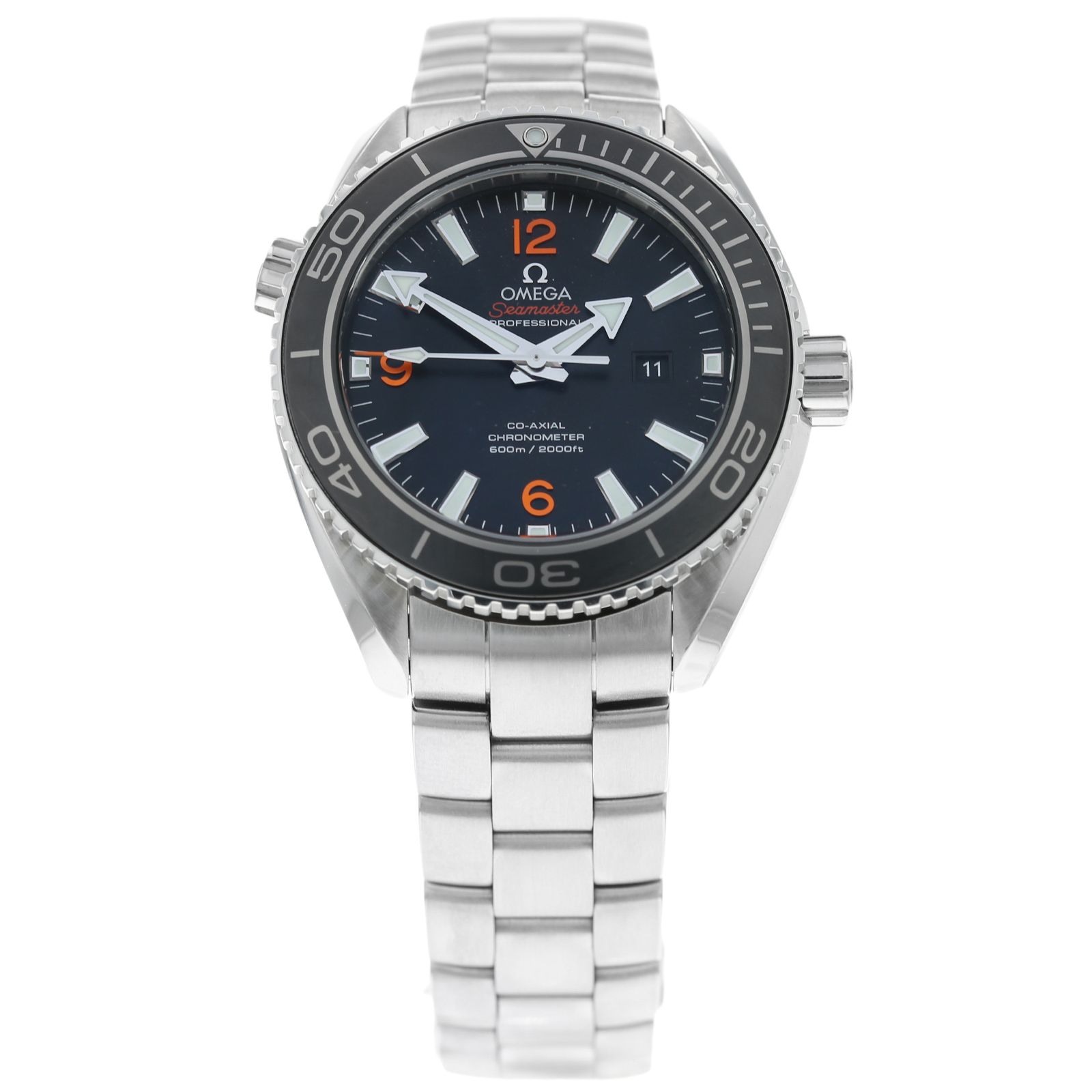 Pre-Owned Omega Seamaster Planet Ocean 600m Co-Axial Mens ...