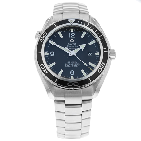 Pre-Owned Omega Seamaster Planet Ocean Mens Watch 2200.05.00