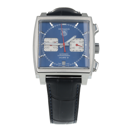 Pre-Owned TAG Heuer Monaco Mens Watch CAW2111-0