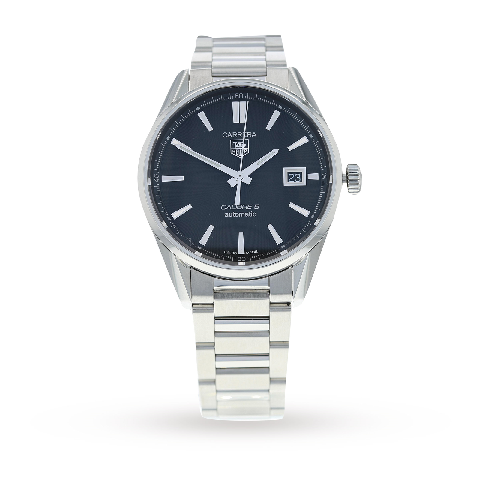 fc01d2b1b71 Pre-Owned TAG Heuer Carrera Calibre 5 Mens Watch WAR211A.BA0782 | Pre Owned  Watches | Goldsmiths
