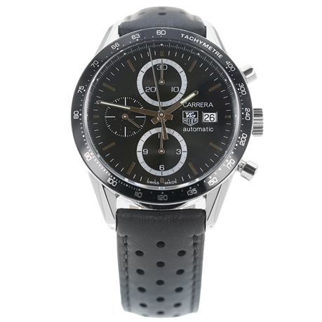 Pre-Owned TAG Heuer Carrera Chronograph Mens Watch CV2010-3