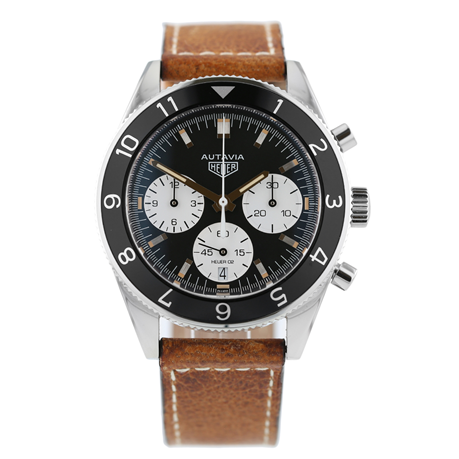 Pre-Owned TAG Heuer Heritage Calibre Heuer 02 Mens Watch CBE2110