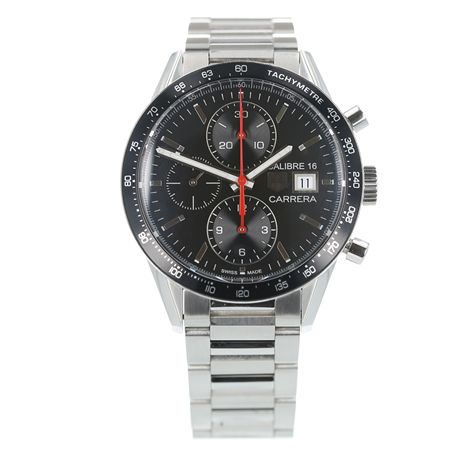 Pre-Owned TAG Heuer Carrera Calibre 16 Mens Watch CV201AK