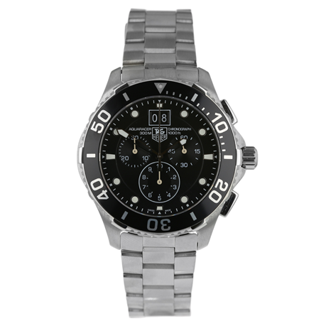 Pre-Owned TAG Heuer Aquaracer Chronograph Mens Watch CAN1010