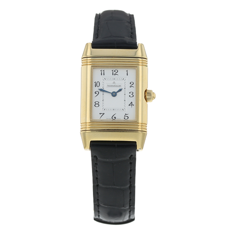 Pre-Owned Jaeger-LeCoultre Reverso Duetto Ladies Watch Q2661410/ 266.1.11