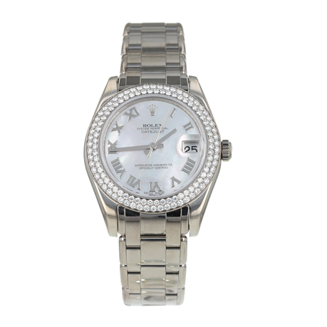 Pre-Owned Rolex Pearlmaster Datejust Ladies Watch 81339