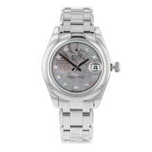 Pre-Owned Rolex Datejust White Gold Pearlmaster Unisex Watch